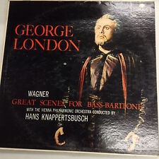 George London Wagner Bass-Baritone X5438 London FFRR 33RPM 030817RR