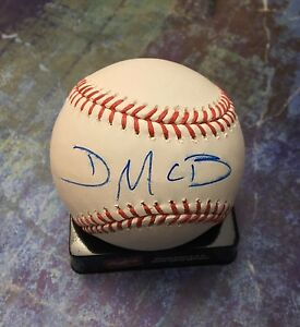 GFA Eastbound & Down DANNY McBRIDE Signed MLB Baseball AD3 COA