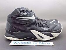Nike Zoom LeBron Soldier VIII 8 Black White Silver sz 13