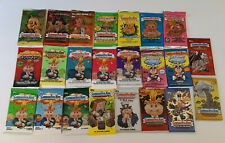 Huge Collection of 23 Sealed Garbage Pail Kids Packs - Chrome, ANS, FB, BNS