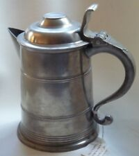 Fine Antique Philadelphia Spouted Pewter Tankard, Love/Parks Boyd, ca. 1800