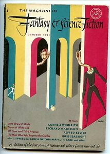 Fantasy and Science Fiction Vol 2 No 5 1951 Approx grading : Fine