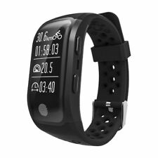 S908 Waterproof  IP68 GPS Smart Watch Band Bracelet  Heart Rate Sleep Monitor