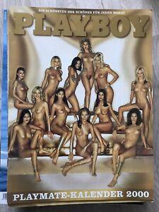 Playboy Playmate KALENDER 2000, SEHR GUTER Zustand!