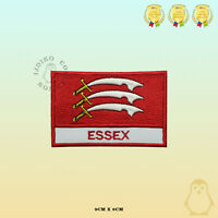 ESSEX County Flag With name Embroidered Iron On Sew On Patch Badge