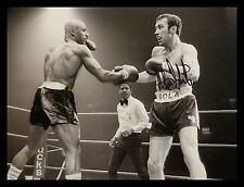 "*New* Alan""Boom Boom"" Minter Signed 12x16 Boxing Photograph : A"