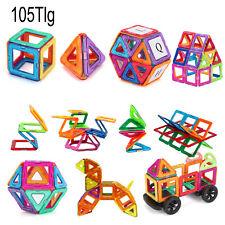 Magnetische Bausteine Ideales Spielzeug Für Kinder 105 Teiliger