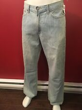 GAP Men's Bleached Fade Loose Fit Straight Leg Jeans - Size 32W x 30L - NWT