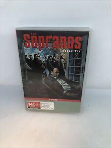 THE SOPRANOS Season 6A DVD 4 Disc Set Very Good Condition FREE SHIPPING