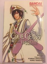 Code Geass: Lelouch of the Rebellion Vol. 8 Manga by Majiko! - UK Seller *Rare*