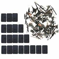 50 Pcs= 20 Stand Base & 30  Accessory Fit For Gi Joe Cobra G.i.joe Figure  TTUS