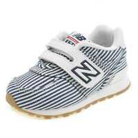 Scarpe Sneakers New Balance 574 IV574CH-BLU/BIANCO Bambino