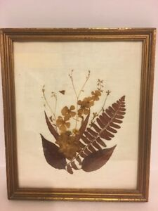 """Traditional Dry Leaves Wall Art 10.75""""x12.75"""""""