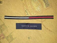 2pcs Tommy Hilfiger TH TH85 Label Collection Sew on Patch Patches + FREE SHIPPIN