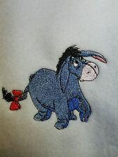 Personalized Embroidery Fleece Baby Blanket With Eeyore