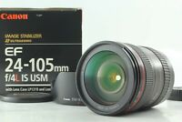 [ MINT Boxed ]  Canon EF 24-105mm f/4 IS L USM Lens w/Hood EW-83H from Japan