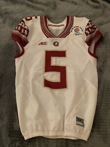 Florida State Seminoles Authentic Team/Game Issued #5 Jersey sz 44s