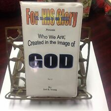 WHO WE ARE, CREATED IN THE IMAGE OF GOD, LOT OF 2...A & B. (17 AUDIO CASETTES)