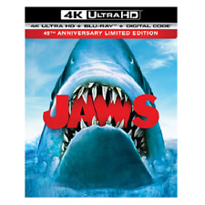 Jaws 4K Ultra Hd 45th Anniversary Limited Edition w/ Slipcover (No Digital)