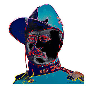 Cowboys and Indians 1986 1 by Andy Warhol 54cm x 54cm High Quality Art Print