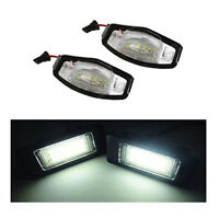 18 SMD HONDA CIVIC MK7 4/5D NUMBER PLATE LED REPLACEMENT UNITS 1 X PAIR 6000K