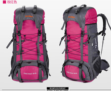 90 L Rucksack Light Weight  Climbing Travel Snowy Pink Hand Luggage CR System