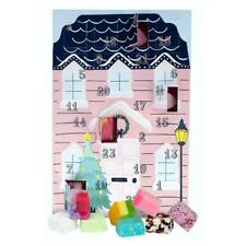 More details for advent calendar santa stop here bath bomb scented soap mallow christmas gift set