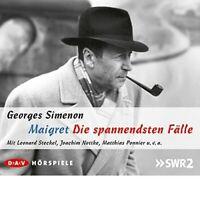 GEORGES SIMENON - MAIGRET-DIE SPANNENDSTEN FÄLLE 5 CD NEW