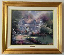 "Thomas Kinkade's ""Home Is Where The Heart Is II"" on canvas, S/N #2329"