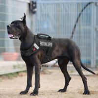 Dog Harness Emotional Support Training Dog Harness Walk Strap for Rottweiler XL