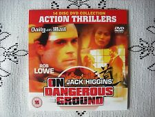 D/MAIL PROMO DVD FILM - ON DANGEROUS GROUND - ROB LOWE THRILLER