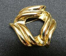 GIVENCHY  GOLD TONE PIN/BROOCH SIGNED VINTAGE  B-14