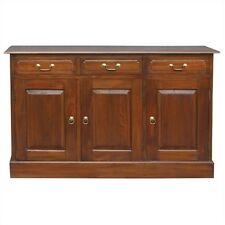 Tasimania  solid Mahogany Timber  3 door 3 drawer buffet sideboard