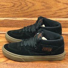 689798d2786539 Vans Half Cab Gum Black Black Shoes Size Men 7 Women 8.5