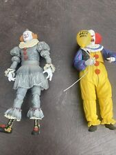 NECA IT PENNYWISE Loose Figure Lot of 2