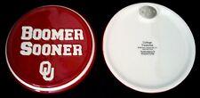 "University of Oklahoma - *Boomer Sooner* - Logo Ceramic Wall/Desk Plaque 5.25"""