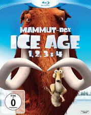 Ice Age 1 - 4 Mammut Box  - 4  Blu Ray´s - NEU & OVP