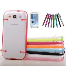 Ultra-thin Clear Transparent Case Frame For SAMSUNG GALAXY S III 3 S3