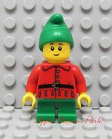 Lego Male Minifig Santa Claus Torso w// Red Jacket White Hands Xmas Christmas