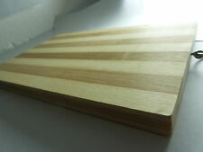 LARGE BAMBOO WOOD CHOPPING BOARD Kitchen Dicing Slicing Cutting Food Wooden