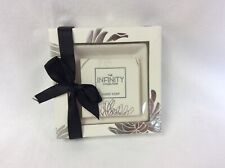 Infinity Collection hand soap and ceramic soap dish