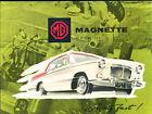 1959 MG Magnette Mark III Original Car Sales Brochure