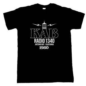 KAB Radio Antonio Bay The Fog Horror Movie Inspired, Mens T-Shirt - Gift Him Dad