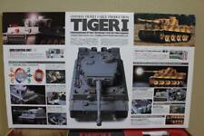 Tamiya 56011 1/16 Tiger I Full Option RC Tank 56009 Fulloperation 4ch Propo
