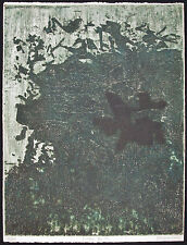 Barbara KWASNIEWSKA, Original Etching, Oiseau du Nil, Signed Numbered RARE!