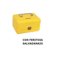 CASSETTA VIRO PORTAVALORI 4272 BLU 150-110-80 CHIAVI CILINDRO VIRO + FESSURA