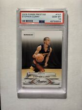 Stephen Curry RC Rookie 2009 Panini Prestige #157 PSA 10 Golden State Warriors