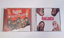 Lot (2) BRATZ CDs: Rock Angels; Motion Picture Soundtrack