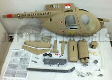 FUNKEY Scale fuselage Hughes 500MD TOW DEFENDER .50 (600) size Army Desert
