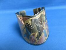East African Ethnic Jewelry New A Elephant Design Metal Cuff Bracelet Kenya